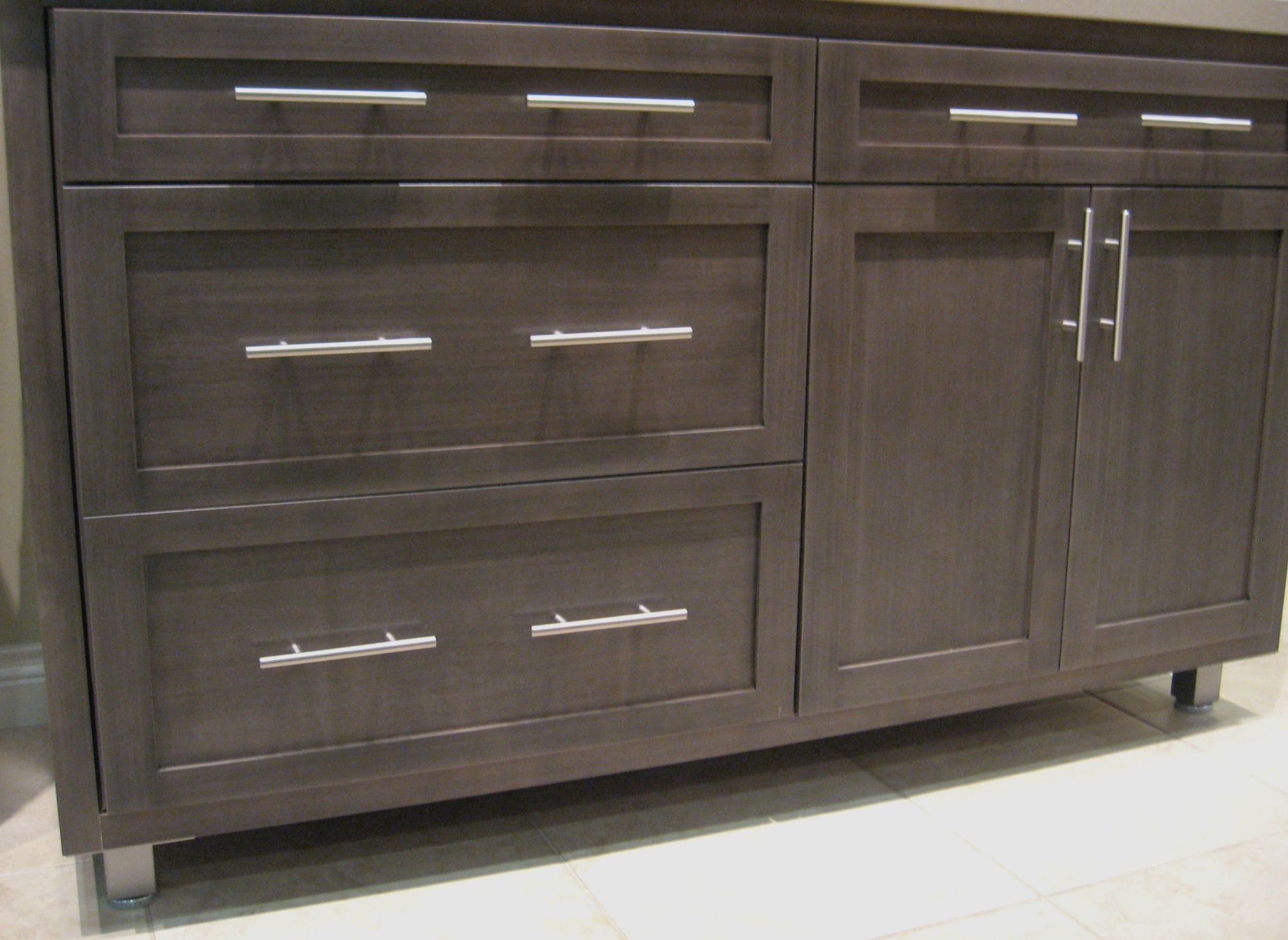 Diversity of design with a singular cabinet style bkc for Modern cabinets