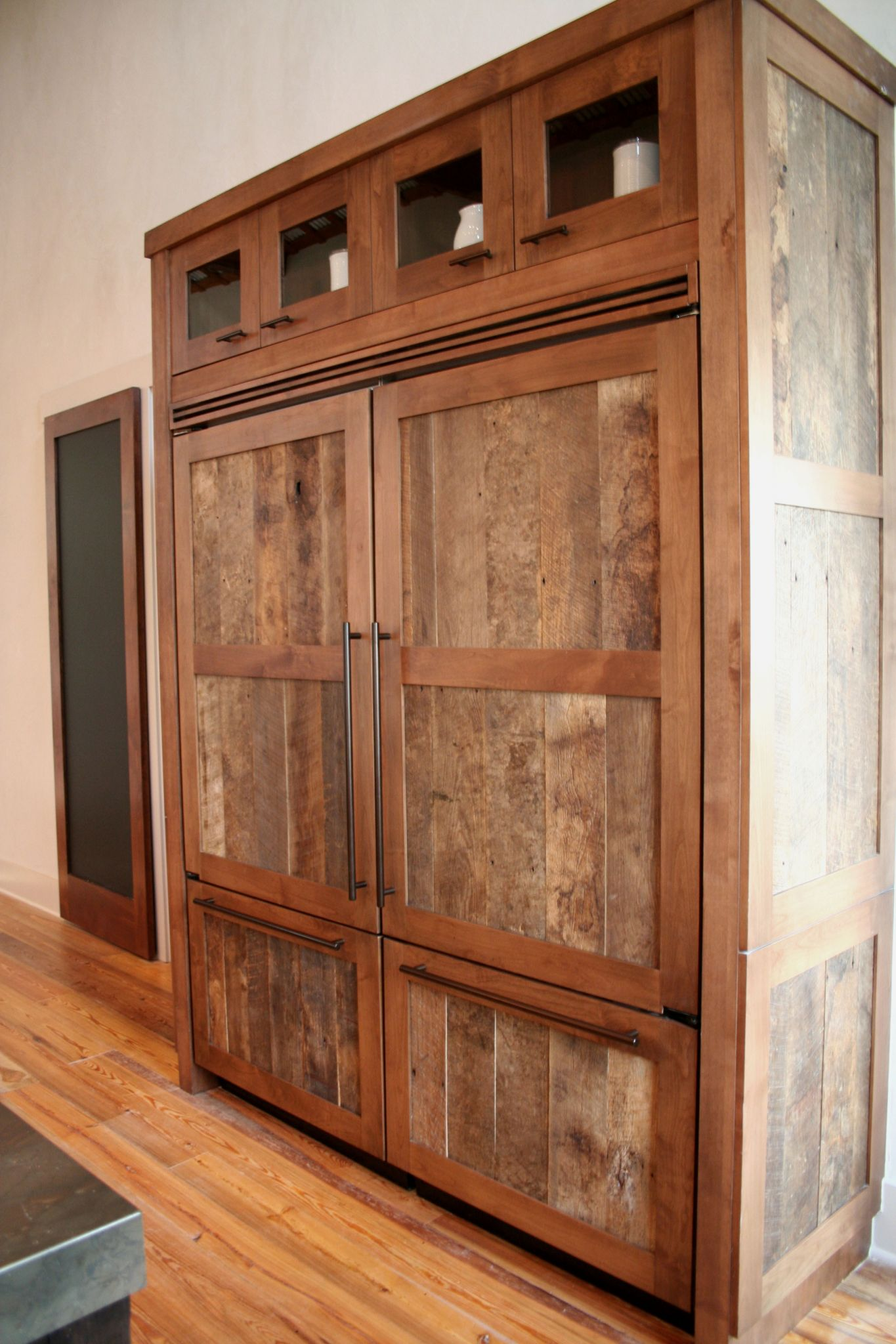Reclaimed Wood Cabinets ~ Crystal kitchen cabinets bkc bath