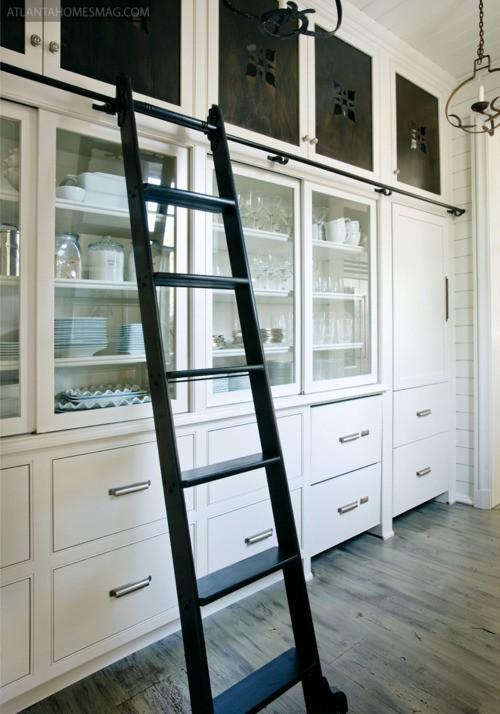 library ladder kitchen 3