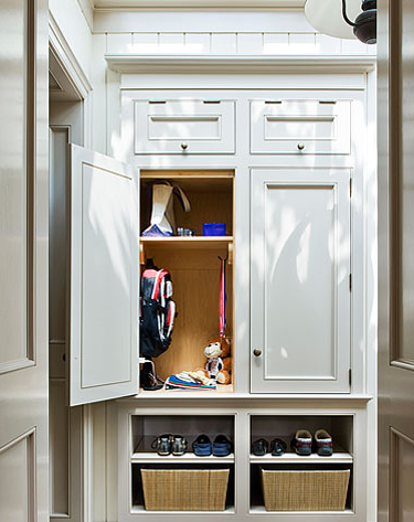 08 Mar Tackling The Mudroom With Custom Cabinetry