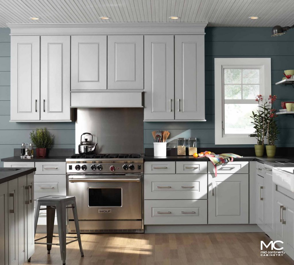 Mid continent cabinetry mid continent cabinets at bkc for Kitchen and bathroom cabinets