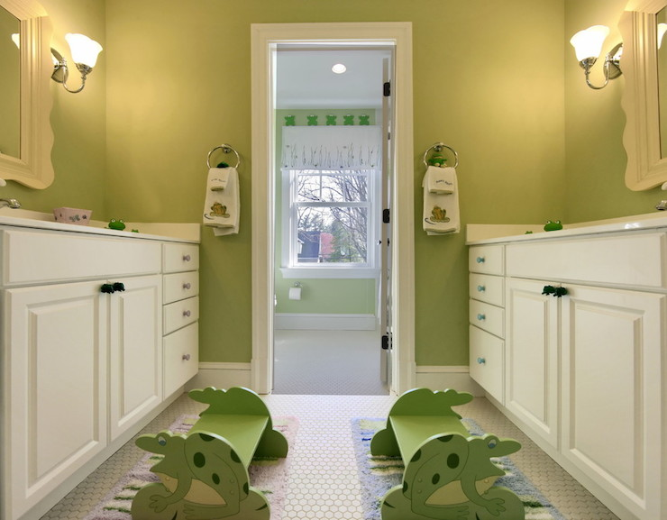 Rub a dub dub remodeling the kids bath bkc kitchen and for Avocado bathroom suite ideas