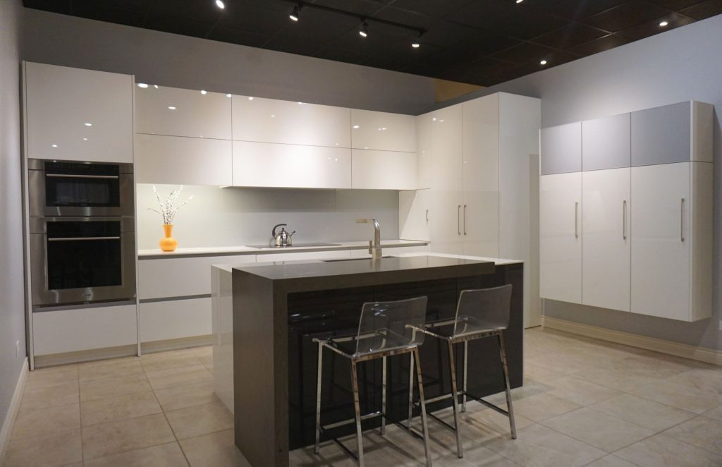 Crystal contemporary cabinets Denver