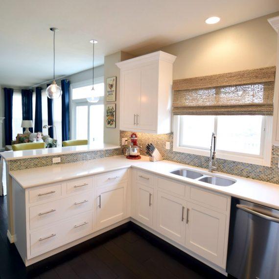 white kitchen Denver