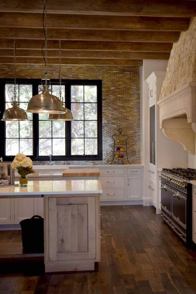 Denver Kitchens example using Crystal Custom Kitchen Cabinets