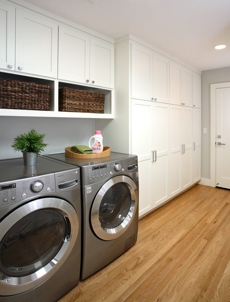 laundry and mudroom cabinet combination