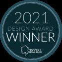 Crystal Award Badge